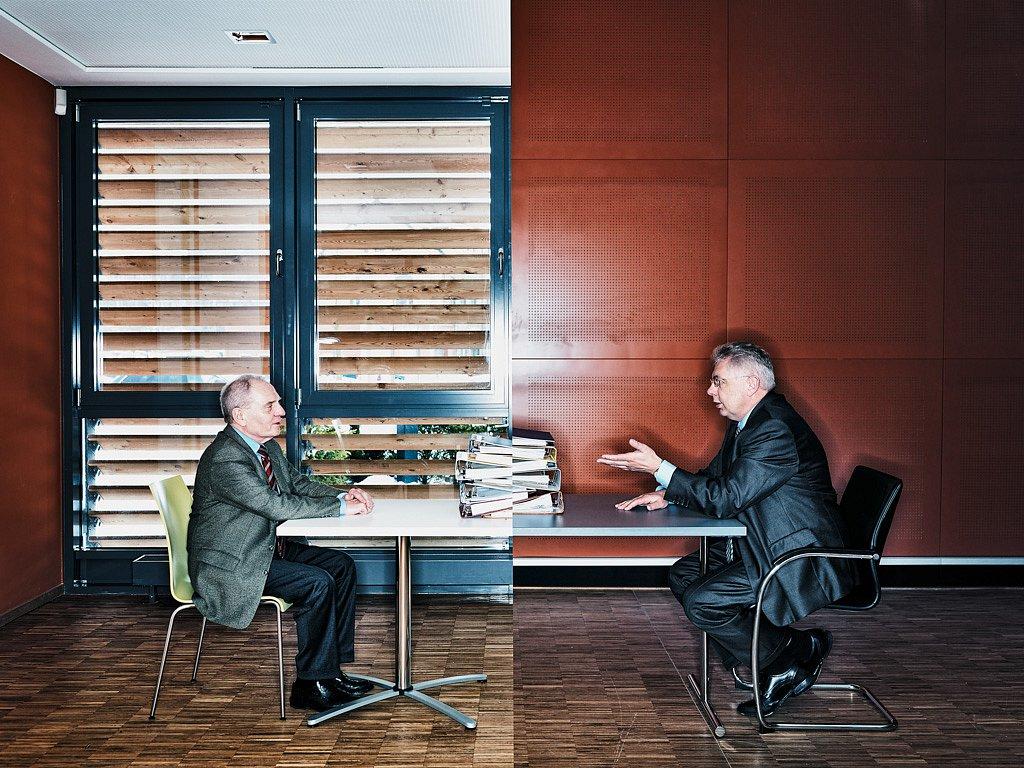 Hans Bodenstein und Klaus Krenkel, ckc Group